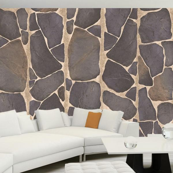 Fototapeta - Skalna mozaika (50x1000 cm) A0-WSR10m474