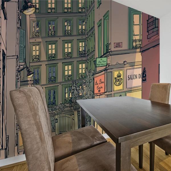 Fototapeta - Śniadanie w Paryżu (200x154 cm) A0-LFTNT0676