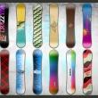 Fototapeta - Snowboard wall A0-XXLNEW010327