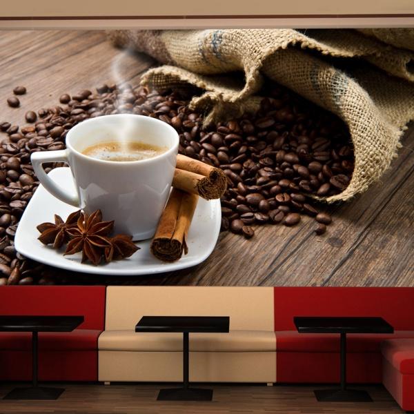 Fototapeta - Star anise coffee (450x270 cm) A0-F4TNT0522