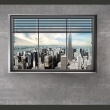 Fototapeta - Świat za oknem A0-XXLNEW010203