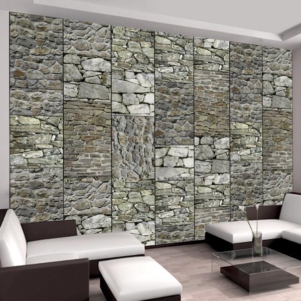 Fototapeta - Szare kamienie (50x1000 cm) A0-WSR10m404