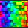 Fototapeta - Sześcian pełen koloru A0-XXLNEW011491