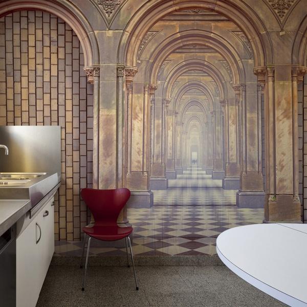 Fototapeta - The chamber of secrets (200x154 cm) A0-LFTNT0674