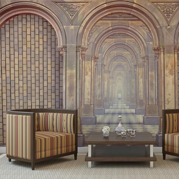 Fototapeta - The chamber of secrets (450x270 cm) A0-F4TNT0068-P