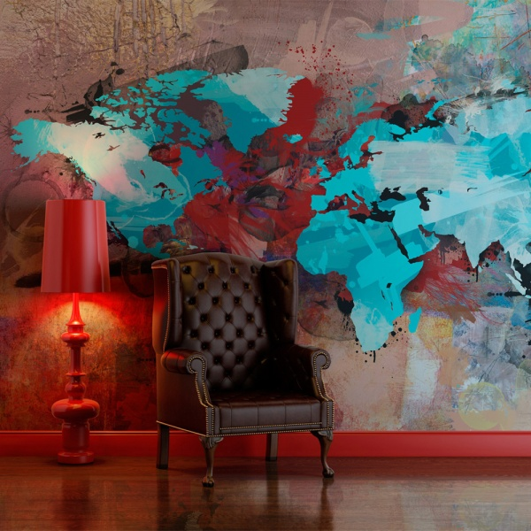 Fototapeta - The earth without art is just 'eh' (450x270 cm) A0-F4TNT0028-P