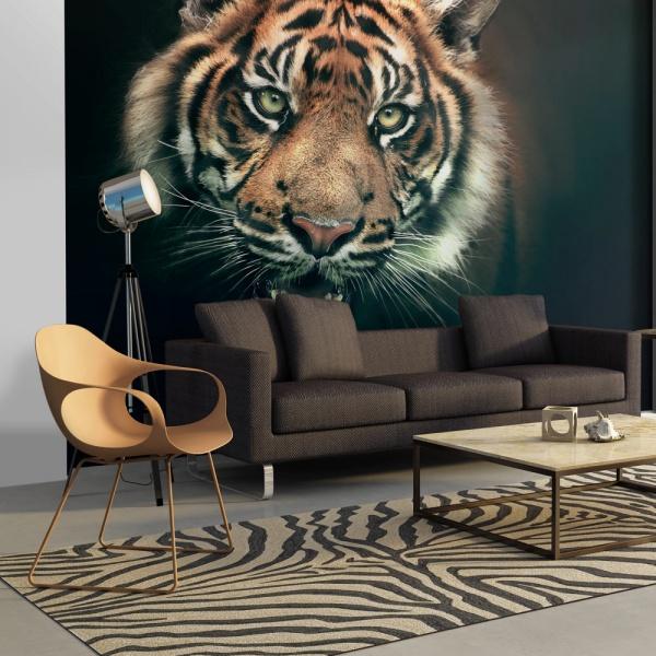 Fototapeta - Tygrys bengalski (200x154 cm) A0-LFTNT0741