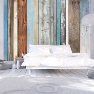 Fototapeta - Ułożone kolory (300x210 cm)