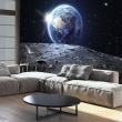 Fototapeta - Widok na Niebieską Planetę A0-XXLNEW011247