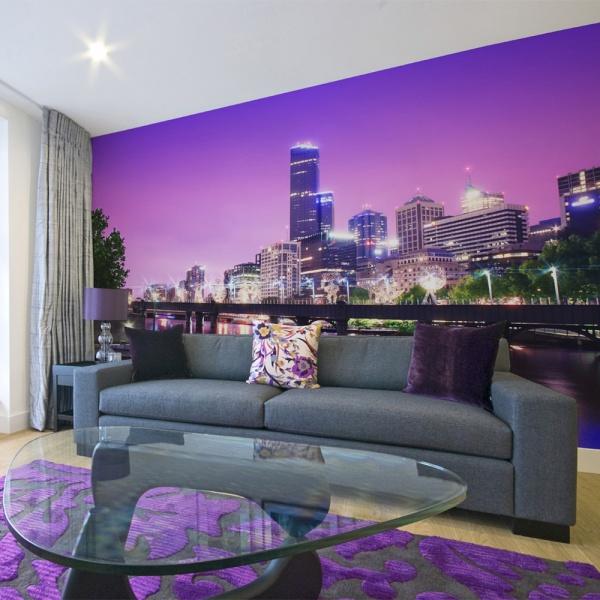 Fototapeta - Yarra river - Melbourne (450x270 cm) A0-F4TNT0509