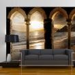 Fototapeta - Zamek na plaży A0-XXLNEW010281