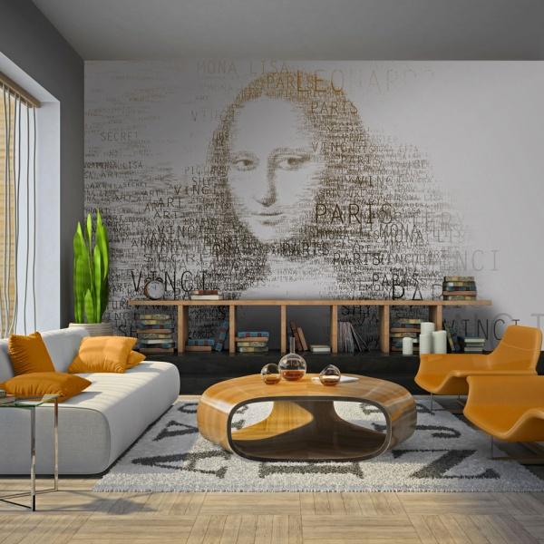 Fototapeta - Zapiski Leonarda da Vinci (200x154 cm) A0-LFTNT0512