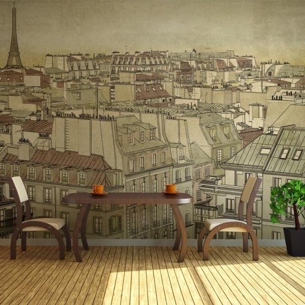 Fototapeta - Żegnaj Paryżu (200x154 cm) A0-LFTNT0705
