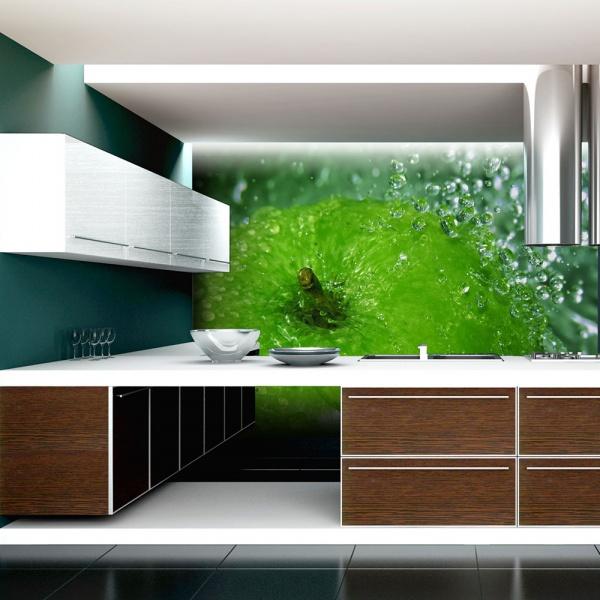 Fototapeta - Zielone jabłko (200x154 cm) A0-LFTNT0887