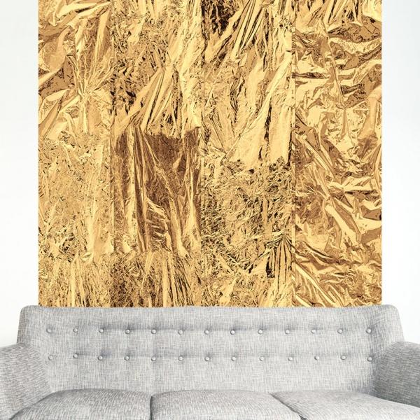 Fototapeta - Złote obłoki (50x1000 cm) A0-WSR10m516