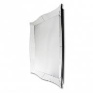 Gaia 120x180 - prostokątne lustro dekoracyjne w ramie lustrzanej