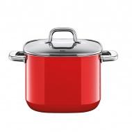 Garnek 3,7l wysoki Silit Quadro Red czerwony