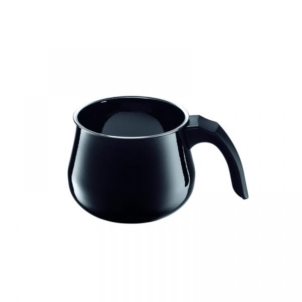 Garnek do mleka 1,7 l Silit Modesto czarny 21.3229.5754