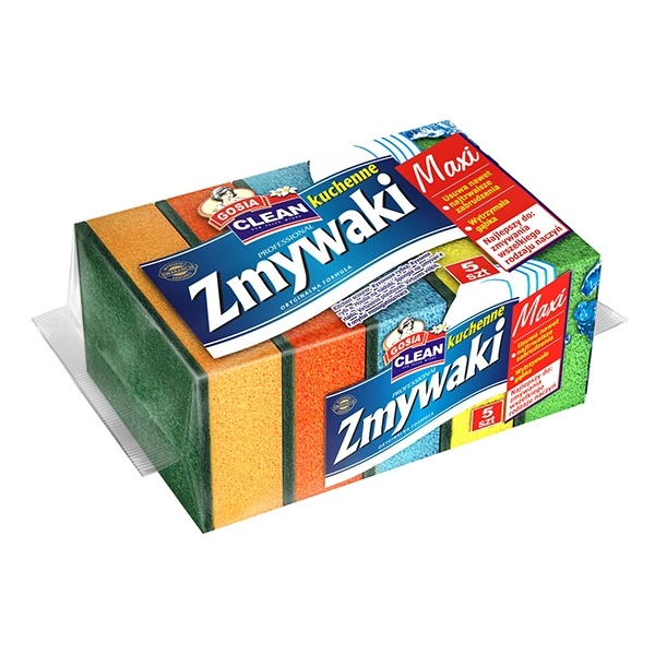 GOSIA 5szt Zmywak Maxi 5904771000557