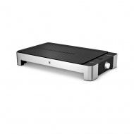 Grill elektryczny stołowy WMF Electro Lono srebrno-czarny