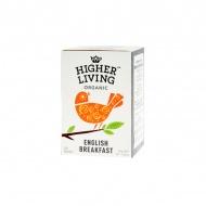 Herbata English Breakfast 20 saszetek Higher Living