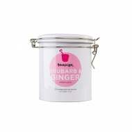 Herbata ziołowa Rhubarb & Ginger w puszce 20 piramidek teapigs