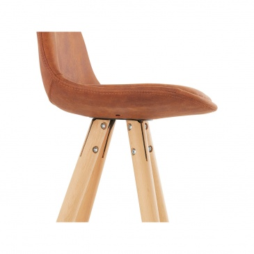 Hoker Kokoon Design Agouti brązowy nogi jasne