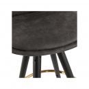 Hoker Kokoon Design Bruce Mini ciemnoszary nogi czarne