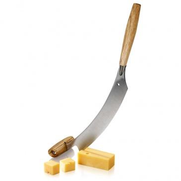 Holenerski nóż do sera i do pizzy, dąb, ostrze 30cm