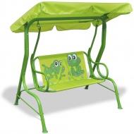 Huśtawka dla dzieci, zielona