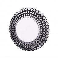 Ines C - okrągłe lustro dekoracyjne w ażurowej ramie