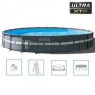 Intex Basen okrągły Ultra XTR Frame, 732 x 132 cm, 26340GN