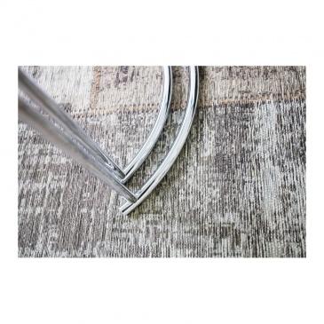 INVICTA zestaw stolików ART DECO chrom - szkło, metal