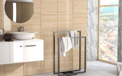 Jakie wieszaki metalowe do łazienki wybrać?