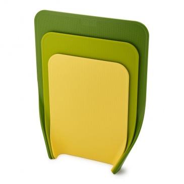 JJ - Zestaw 3 desek do krojenia, zielonych, Nest?