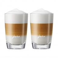 JURA - Zestaw 2 szklanek do Latte 10,5 cm - bez spodków