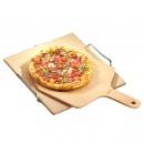 Kamień do pieczenia pizzy z łopatką Kuchenprofi