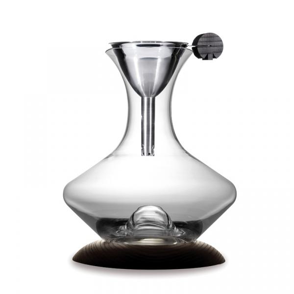Karafka do wina z dekanterem i podstawką Legnoart Optimum - bez opakowania SD-1(1)