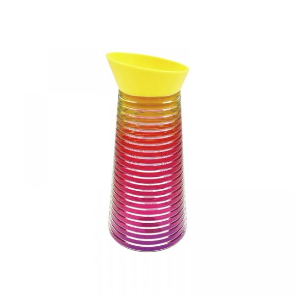 Karafka na napoje 1 l Zak! Designs Rainbow ciepłe kolory 6685-N460