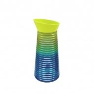 Karafka na napoje 1 l Zak! Designs Rainbow zielono-niebieska