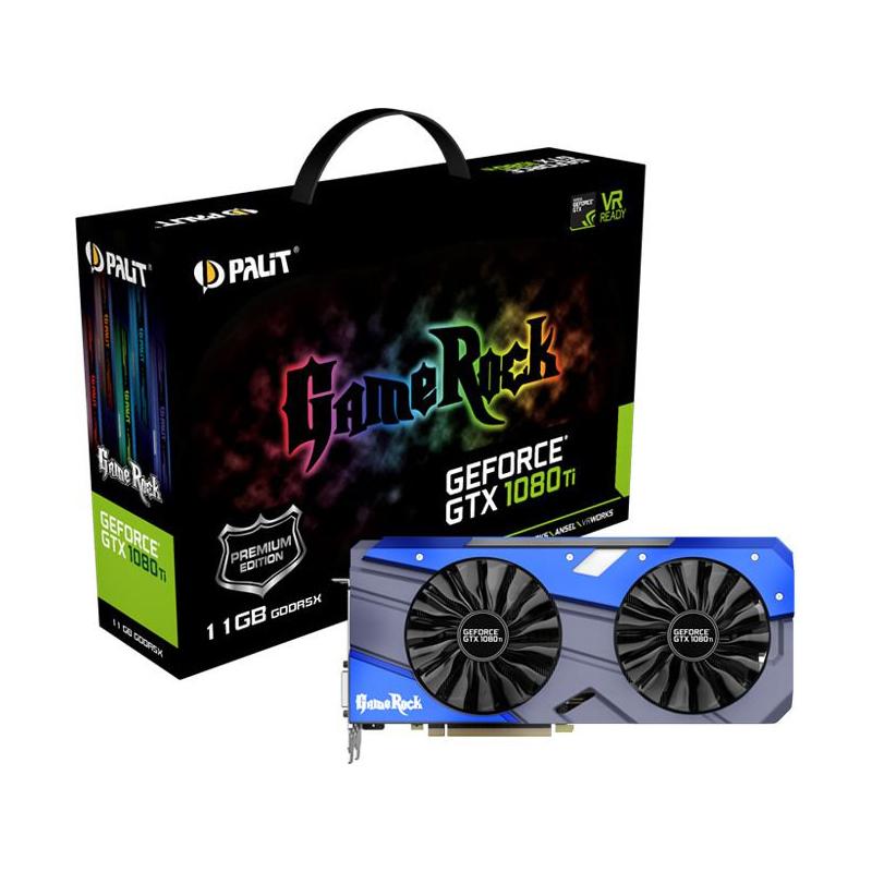 Karta Graficzna Palit Geforce Gtx 1080 Ti Gamerock Premium 11gb