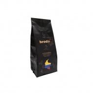 Kawa świeżo palona 0,25kg Broda Coffee Columbia czarna