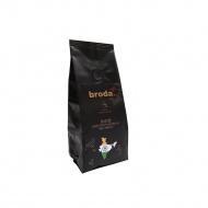 Kawa świeżo palona 0,5kg Broda Coffee Indie czarna
