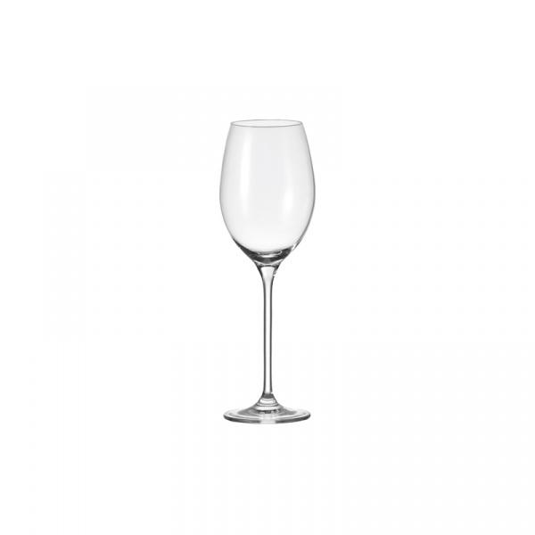 Kieliszek do wina białego 25 cm Leonardo Cheers przezroczysty 061632