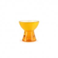 Kieliszek na jajko Vialli Design Mio Livio żółty