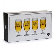 Kieliszki do piwa 0,42 l Sagaform Club przeźroczyste