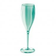 Kieliszki do szampana 4 szt. 19cm Koziol Cheers miętowe