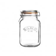 KIL- Słoik 1,5l, Square Clip Top Jar