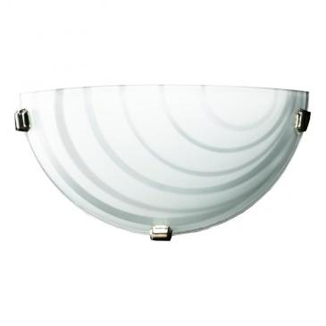 Kinkiet 16x30cm Lampex K1 Nebraska biały 676/K1