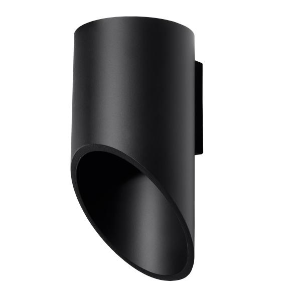 Kinkiet 20x10cm Solux Lighting Penne czarny SL.0113